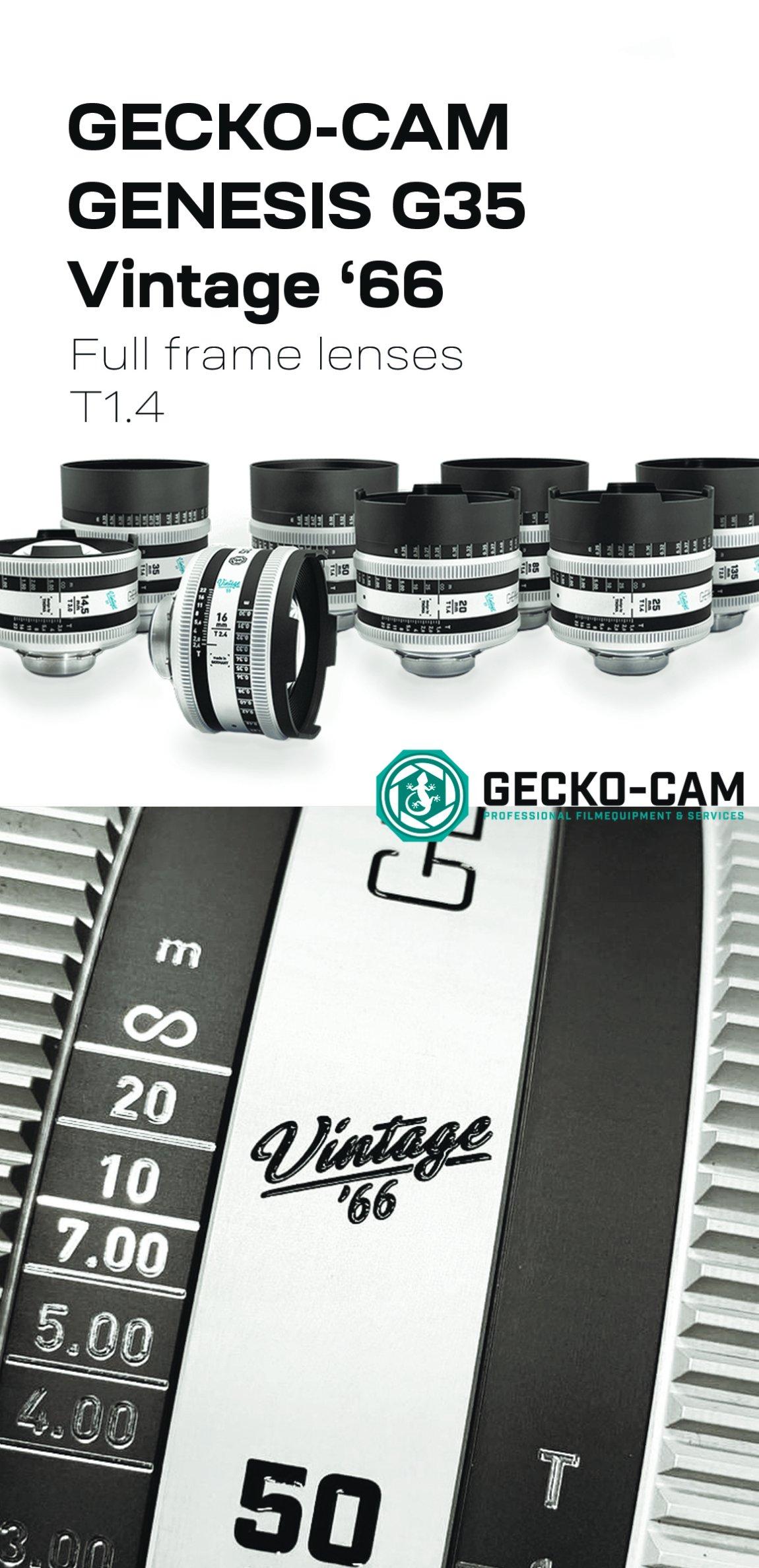 GECKO-CAM GENESIS G35 VINTAGE '66